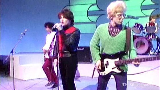 U2 first appearance on 'The Late Late Show' © RTÉ Stills Library 3036/032