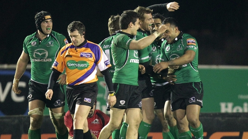 Connacht seek a follow-up victory in the RaboDirect