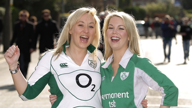 Niamh O'Mahoney and Jenny Cusack get in the mood
