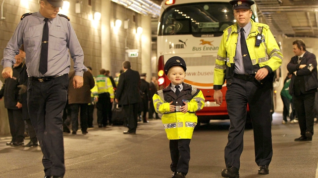 Dylan Steele gets his chance to join the Garda Síochána as part of the Share a Dream Foundation
