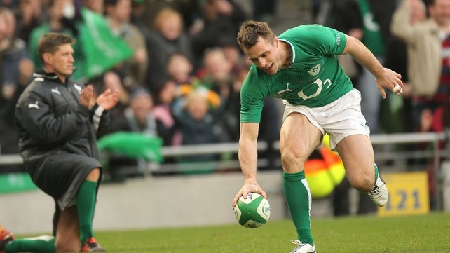 Tommy Bowe scored a brace of tries as Ireland got into their groove in the second half