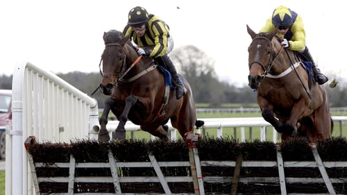 Minsk (right) will only run at Roscommon if the going changes