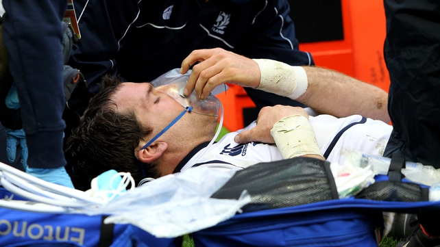 Rory Lamont's broken leg will mean a reshuffle