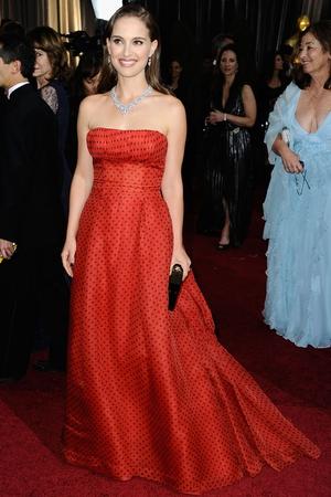Natalie Portman in vintage Christian Dior (2012)