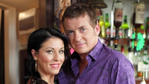 Shane Richie as Alfie and Jessie Wallace as Kat in EastEnders