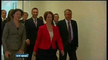 One News: Julia Gillard wins leadership contest in Australia