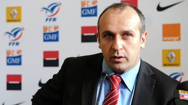 Philippe Saint-Andre was very critical of his team's performance against Scotland