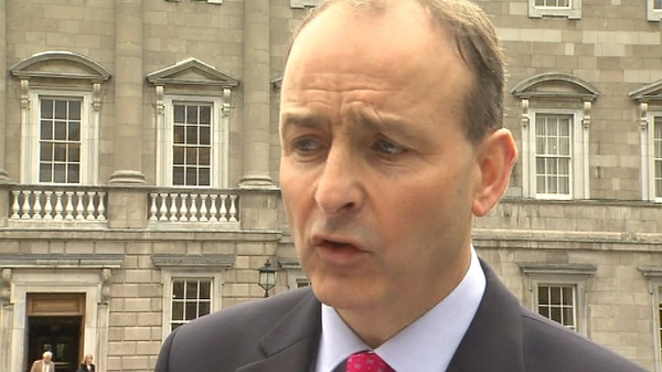 Micheál Martin said the Government should have been more assertive in pushing for a new bank debt deal