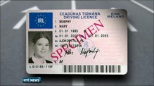 Six One News: Design for new Irish driving licence revealed