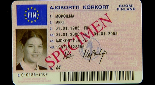 New credit-card style driving licence revealed