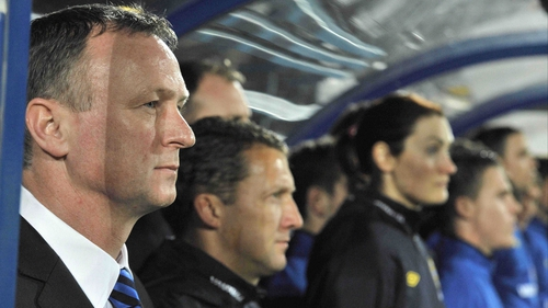 Michael O'Neill's Northern Ireland charges were outplayed by their hosts at the Stade Josy Barthel