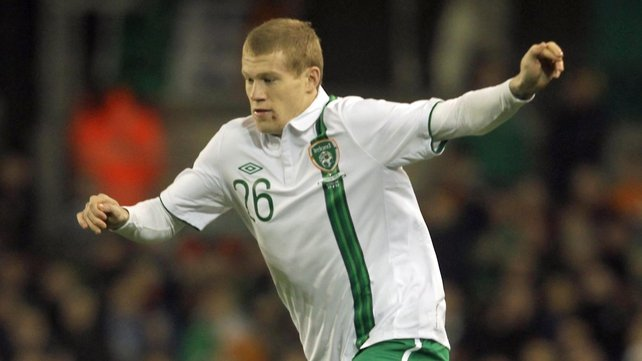 James McClean impressed in his cameo for Ireland