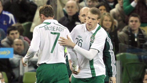 McClean made his international debut for the Republic against the Czech Republic last February