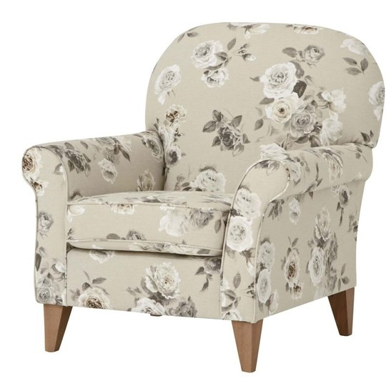 Southwold chair in vintage rose, €525, Next