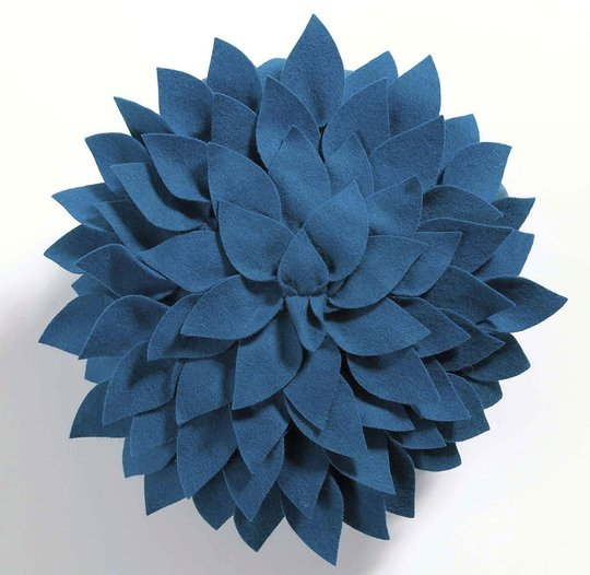 Blue floral cushion, €19, www.littlewoodsireland.ie