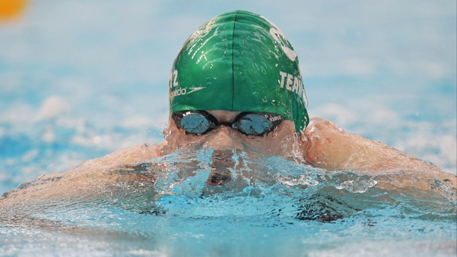 Sycerika McMahon grabbed a bronze medal in the 50m breaststroke final on Thursday