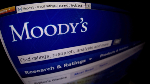 Moody's upgraded Ireland's credit rating from Baa3 to Baa1 on Friday night