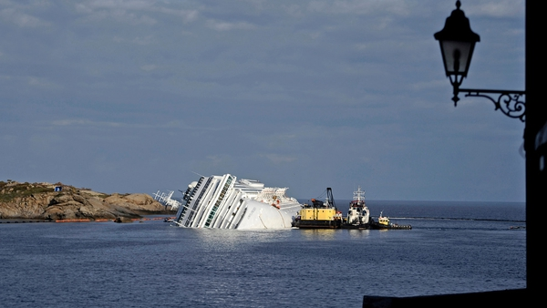 More than 4,200 passengers and crew were on the Costa Concordia