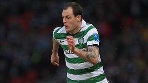 Ireland international Anthony Stokes scored Celtic's second at St Mirren Park