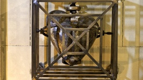 The relic was stolen on 12 March 2012 by a thief who is believed to have hidden overnight in the cathedral