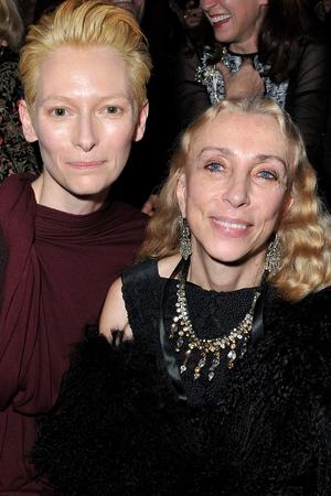 Tilda Swinton and Franca Sozzani