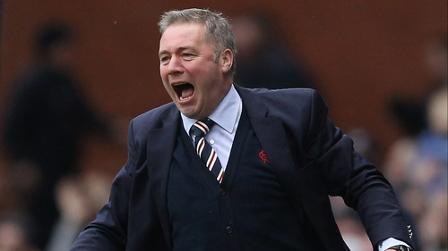 Ally McCoist has said that dropping down the fourth tier might be in the best interest of Rangers