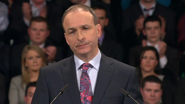 New poll has Micheál Martin's Fianna Fáil as the most popular party in Ireland