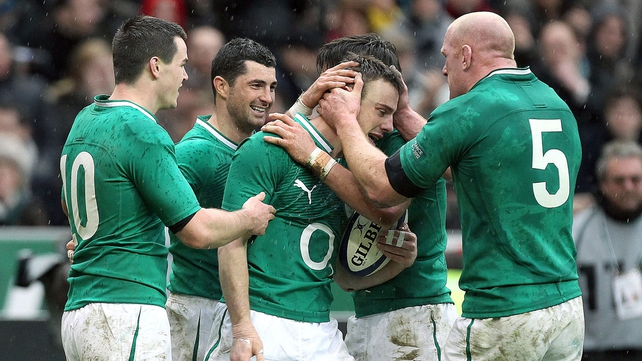 Tommy Bowe's two tries weren't quite enough for Ireland to secure a rare Paris win