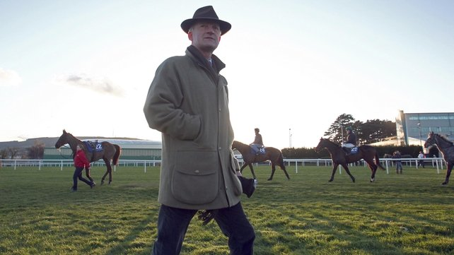 Willie Mullins has two runners in the Rock Of Cashel Hurdle