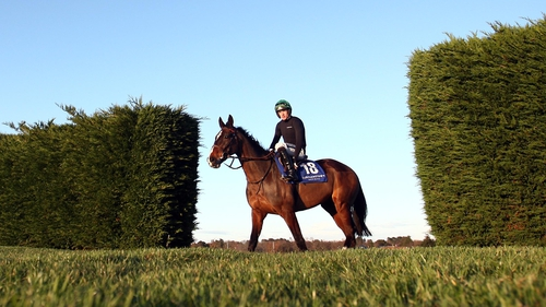 On His Own will look to stay upright when encountering the big Aintree fences for the third time