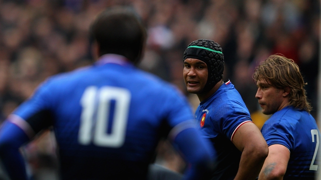 Thierry Dusautoir missed out on autumn internationals because of a knee injury