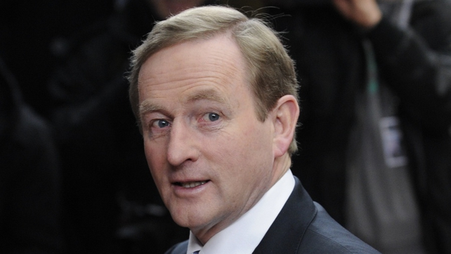 Enda Kenny reiterated that the referendum is separate to the bank debt issue