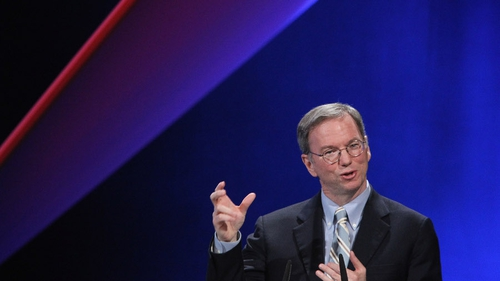 Eric Schmidt said he saw taxes as mandatory and not optional