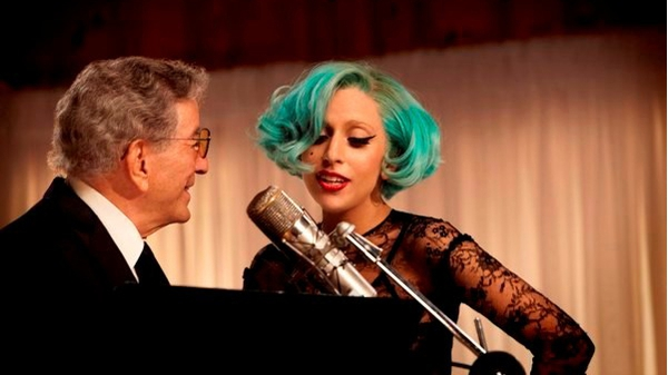 Lady Gaga (here with Tony Bennett) - wants to have a big family