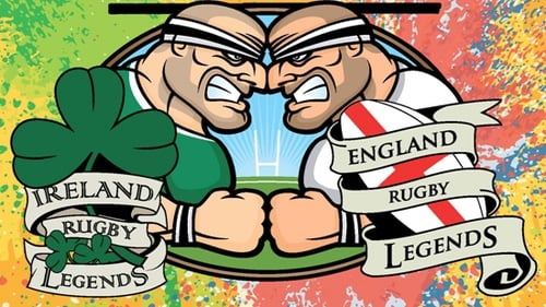 Ireland v England Legends - Friday 16 March at 7.45pm
