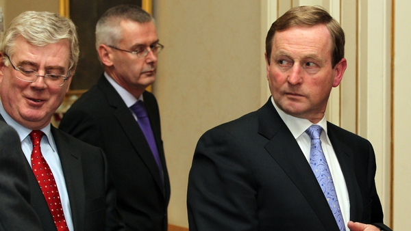 The Ipsos/MRBI poll for The Irish Times shows a 14% drop in satisfaction with the coalition