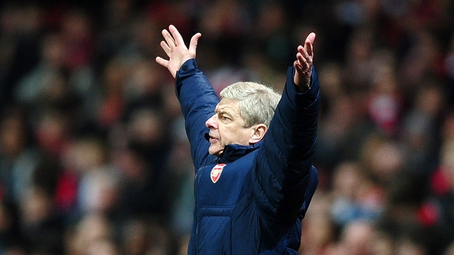 Arsene Wenger said it was an honour to manage a club like Arsenal