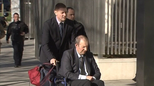Cecil Tompkins who is suffering from Parkinson's disease has pleaded not guilty to his brother's murder