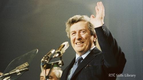 Garret FitzGerald at the Fine Gael Ard Fheis (1981)