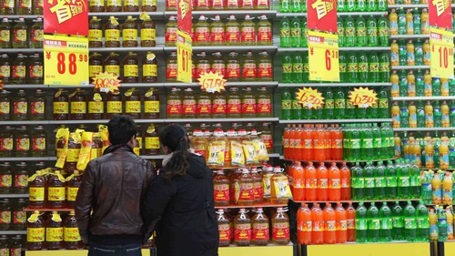 Chinese inflation dropped to 2.5% last month