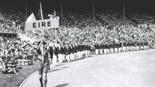 83 participants represented Ireland at the 1948 London Olympic Games - 78 men and five women