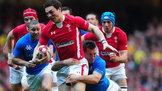 George North will miss Wales' Test match against New Zealand with a hip injury