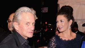 It looks like Michael Douglas may be back with Catherine Zeta-Jones?