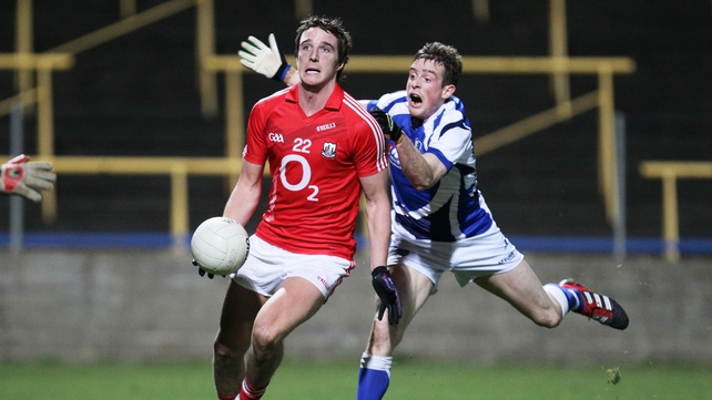 Cork's Aidan Walsh scored three points against Laois