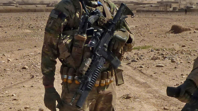 A US soldier is alleged to have gone on a shooting rampage