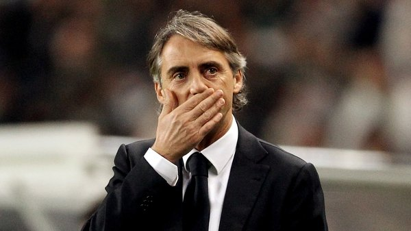 Mancini is full of praise for the 'spirit' shown by the Old Trafford club