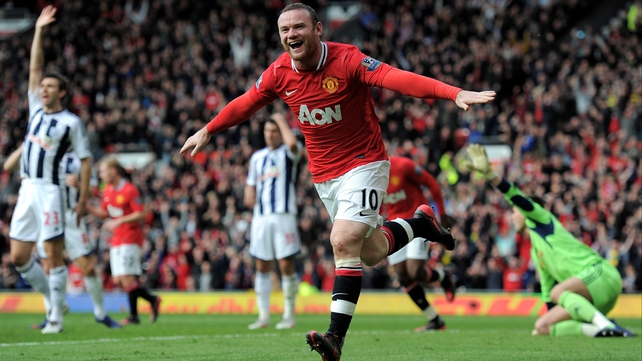 Wayne Rooney looks set to be consigned to the bench for Manchester United