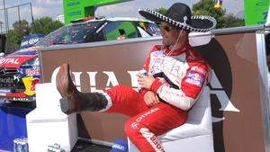 Sebastian Loeb leads the way at the Rally Argentina