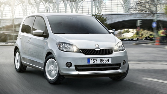 At just 3.56 metres long, Citigo is the new baby in Škoda's impressive