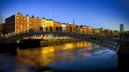 Dublin ranked among the top 50 most beautiful cities in the world.
